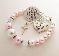 Goddaughter Personalized 'I will always be here'  Bracelet - Boxed